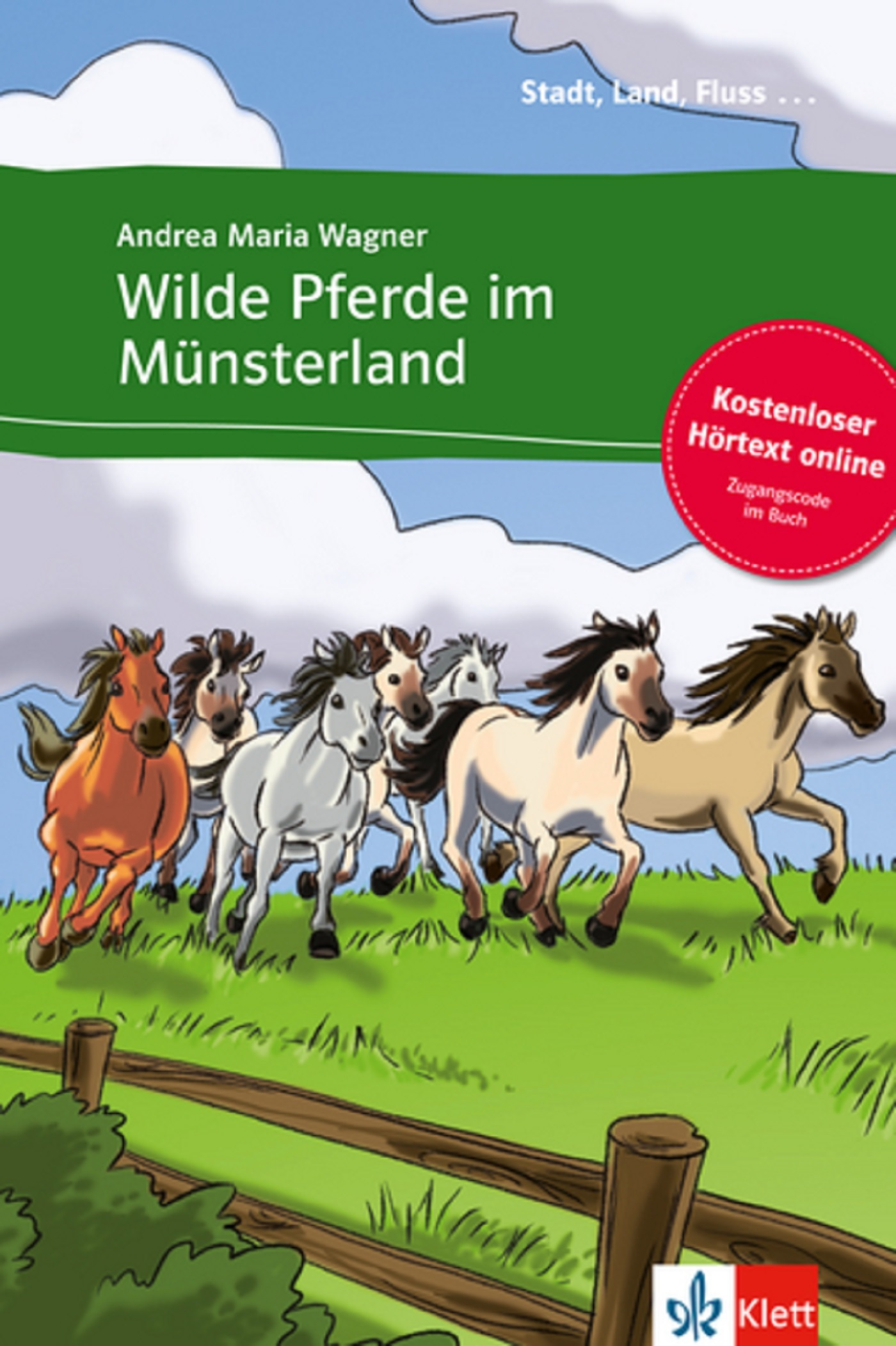 WILDE PFERDE IM MUNSTERLAND + AUDIO TELECHARGEABLES