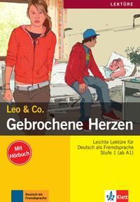 GEBROCHENE HERZEN, LIVRE + CD (NIVEAU A1-A2)