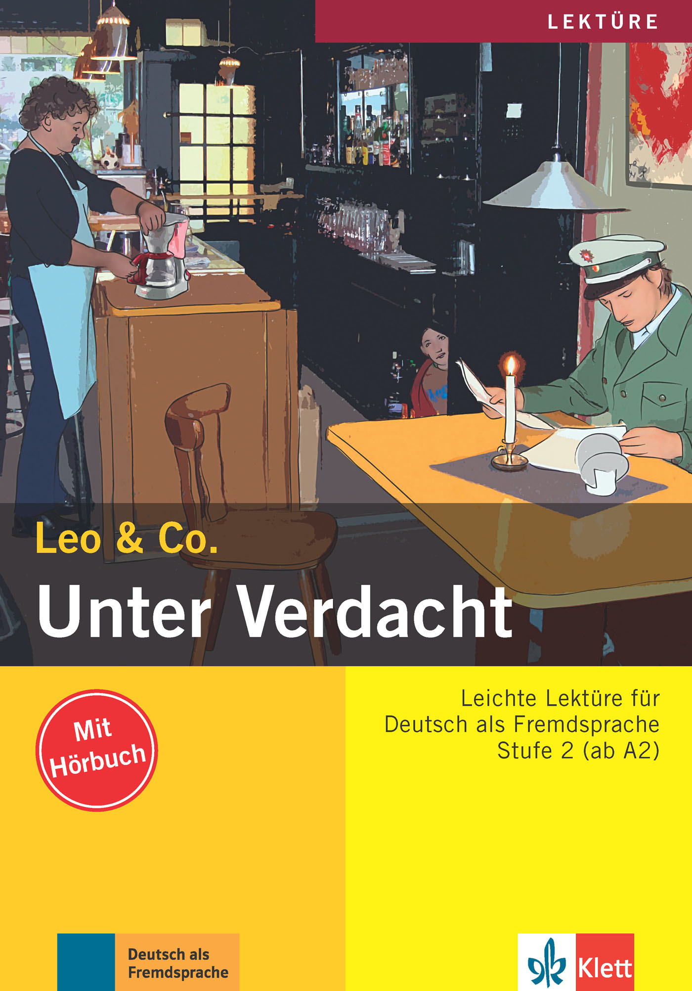UNTER VERDACHT! LIVRE + CD (NIVEAU A2)