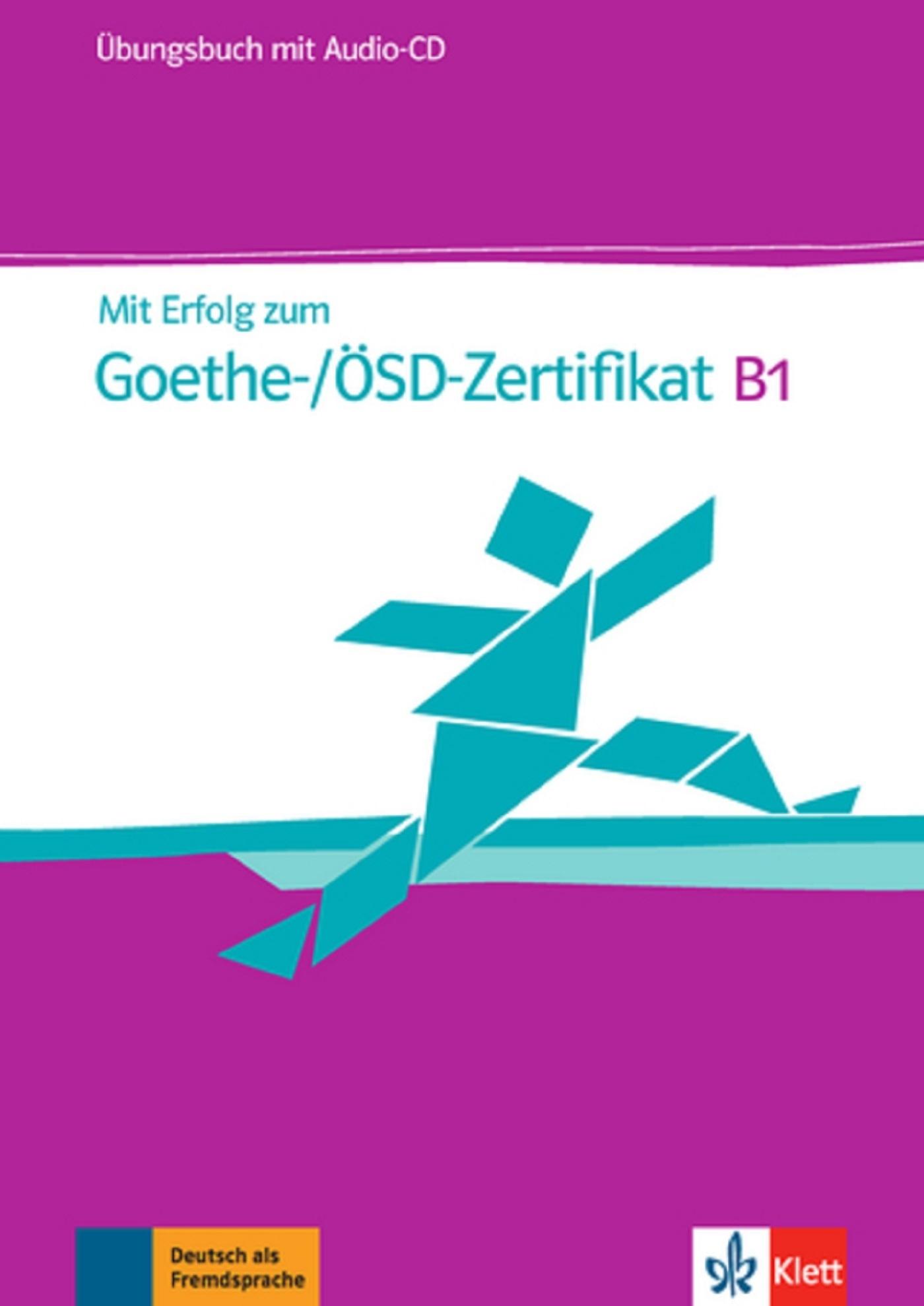 MIT ERFOLG ZUM GOETHE ZERTIFIKAT B1 CAHIER D'EXERCICES