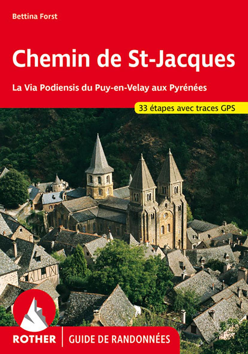 CHEMIN DE ST JACQUES FRANCE (FR)GPS VIA PODIENSIS PUY EN VELAY PYR