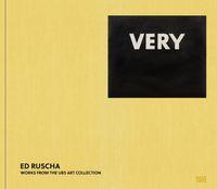 ED RUSCHA. VERY /ANGLAIS