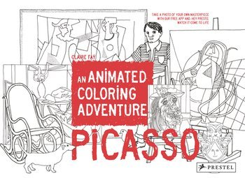 PICASSO - AN ANIMATED COLORING ADVENTURE /ANGLAIS