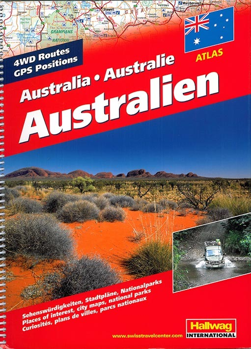 **AUSTRALIA ROAD ATLAS**