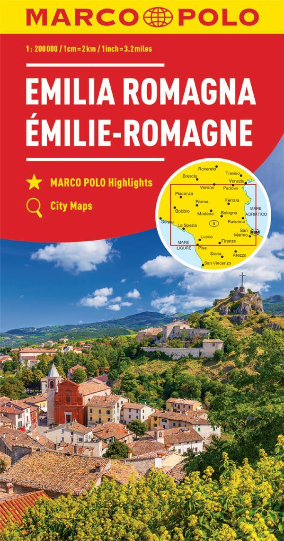 EMILIE-ROMAGNE 1 : 200 000