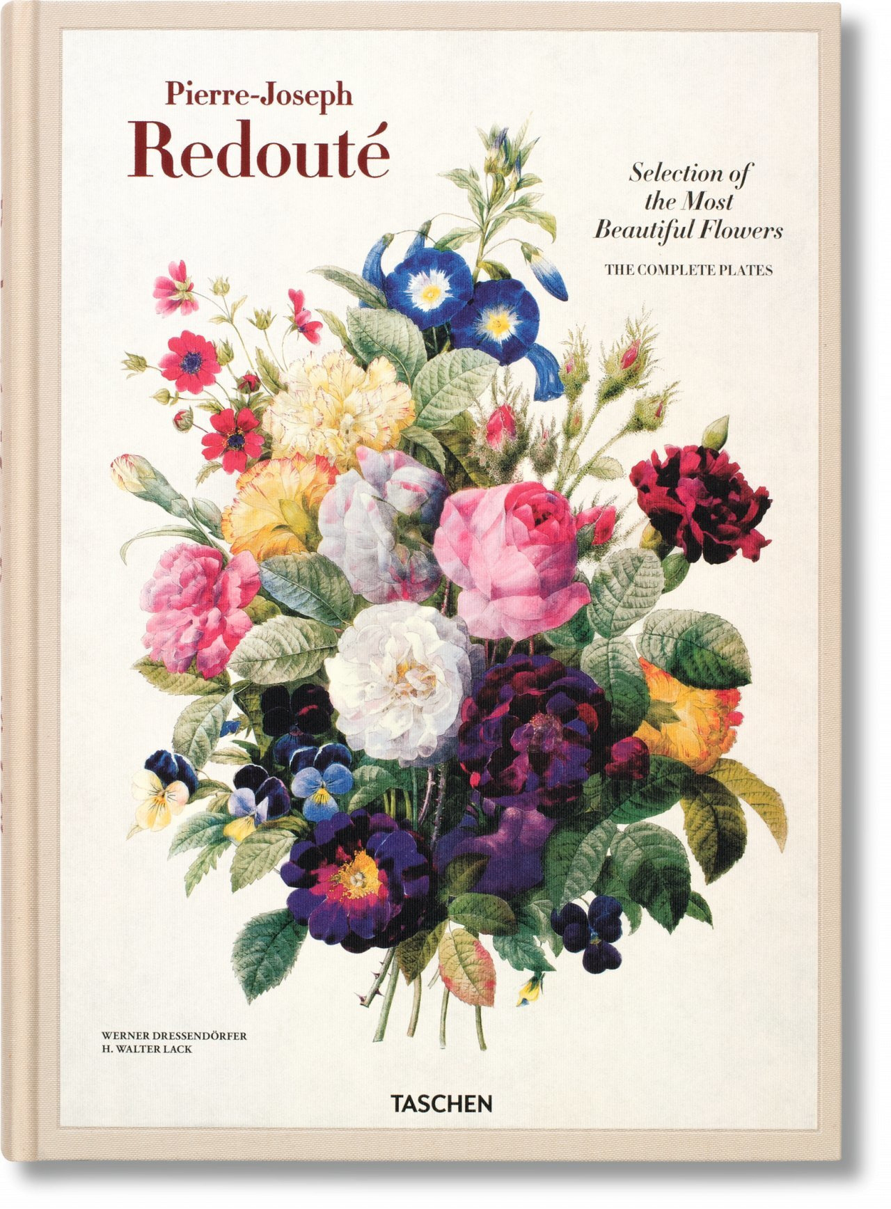 REDOUTE. SELECTION OF THE MOST BEAUTIFUL FLOWERS - REDOUTE, BELLES FLEURS-TRILINGUE