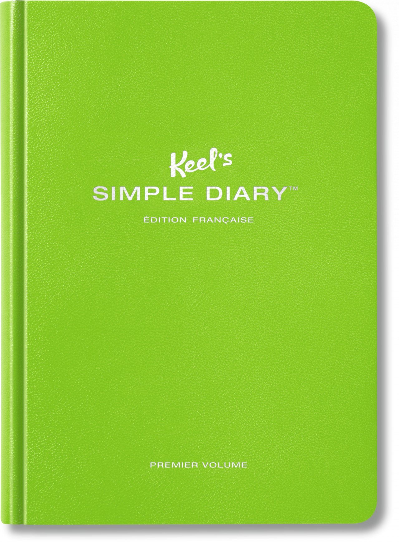 KEEL'S SIMPLE DIARY PREMIER VOLUME (VERT CITRON) - VA