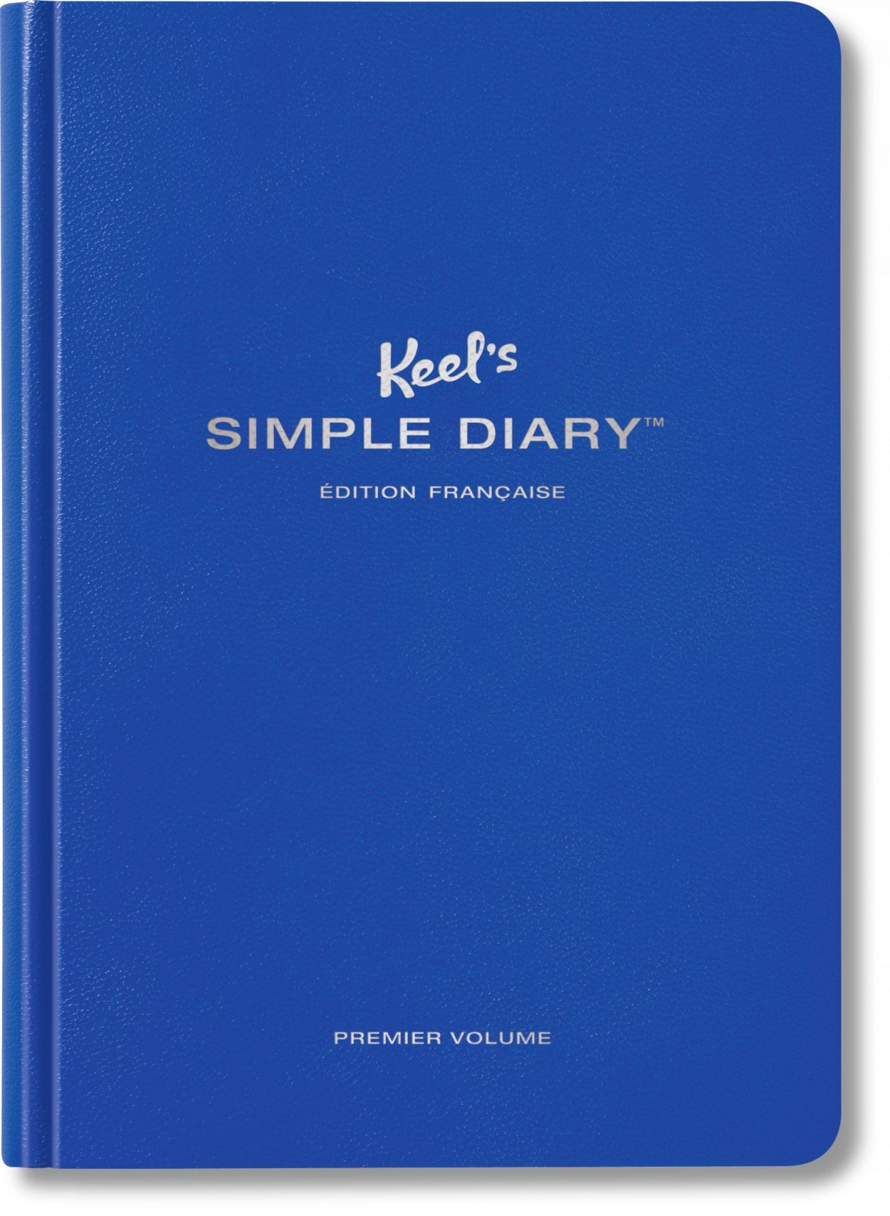 KEEL'S SIMPLE DIARY PREMIER VOLUME (BLEU ROI)