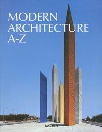 JU-MODERN ARCHITECTURE A-Z - ANGLAIS -
