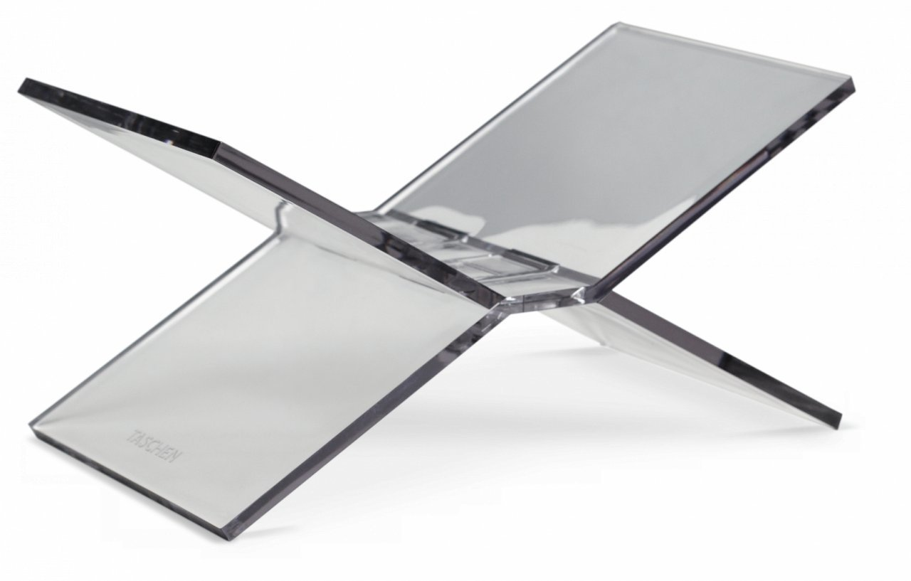 WM-CLEAR ACRYLIC BOOK STAND