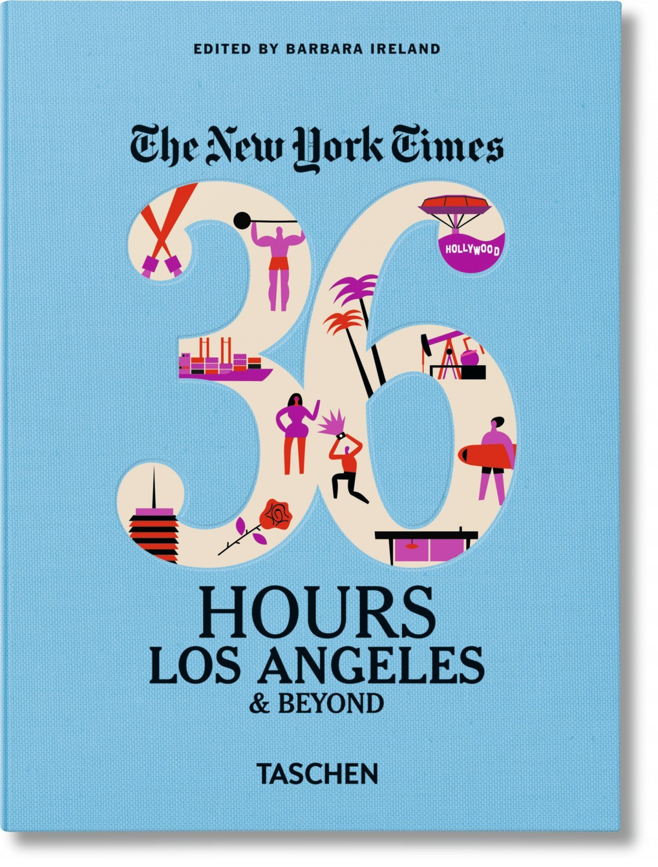 VA-THE NEW-YORK TIMES, 36 HOURS, LOS ANGELES - ANGLAIS