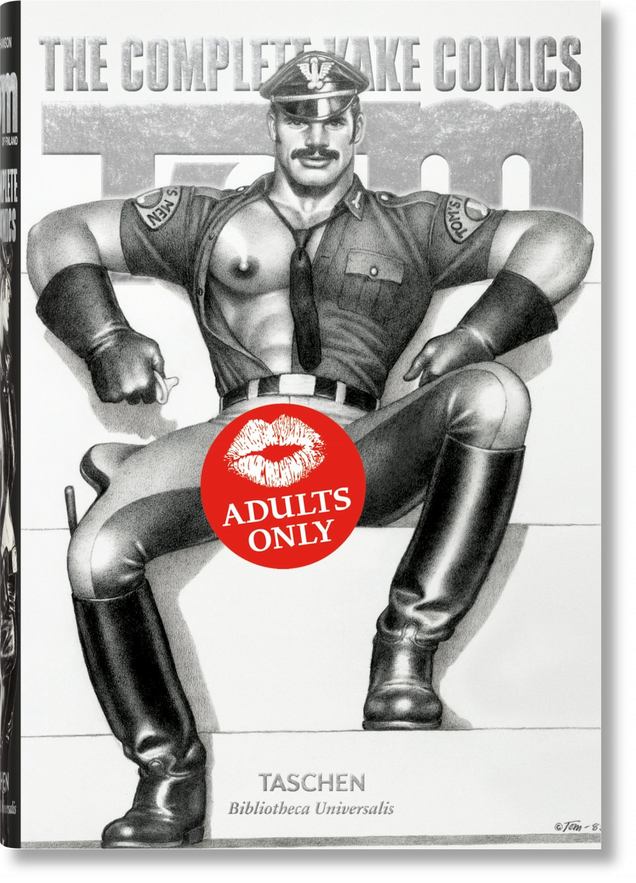 KO-25 TOM OF FINLAND. THE COMPLETE KAKE COMICS