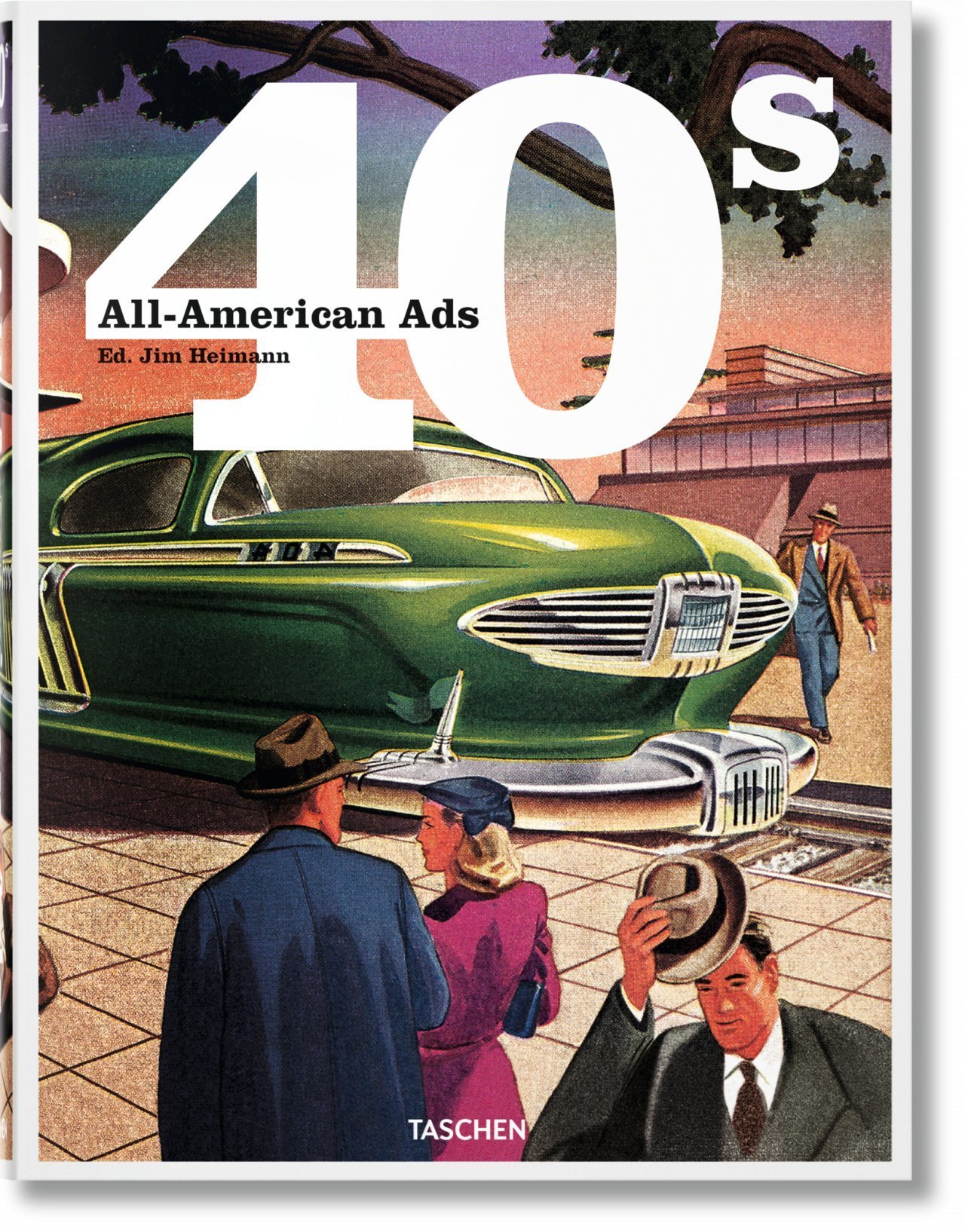 CO-25 ALL-AMERICAN ADS OF THE 40S