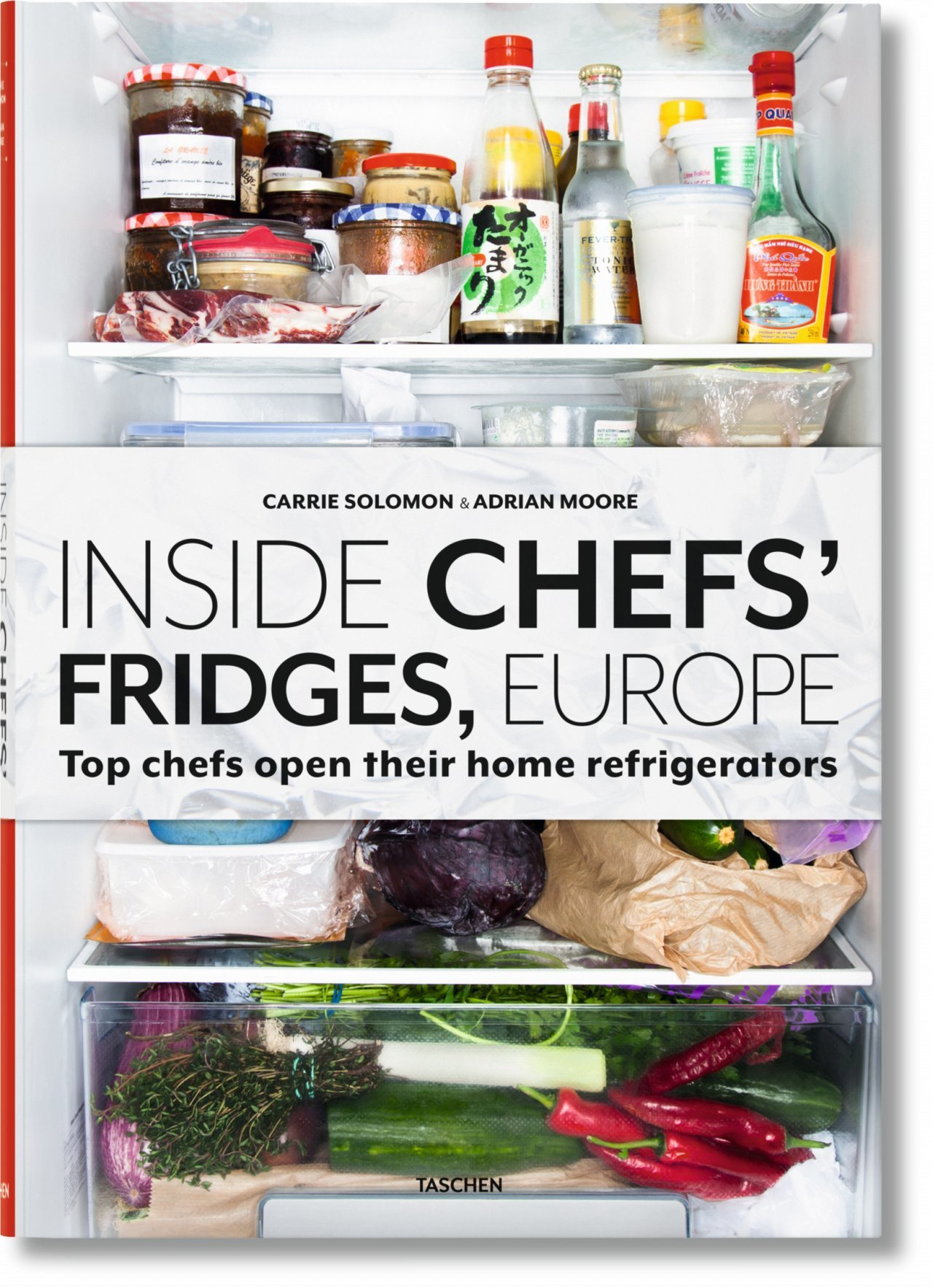 VA-INSIDE CHEFS' FRIDGES, EUROPE - ANGLAIS -