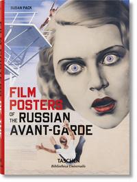 BU-LES AFFICHES DE CINEMA DE L'AVANT-GARDE RUSSE-TRILINGUE