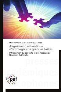ALIGNEMENT SEMANTIQUE D'ONTOLOGIES DE GRANDES TAILLES