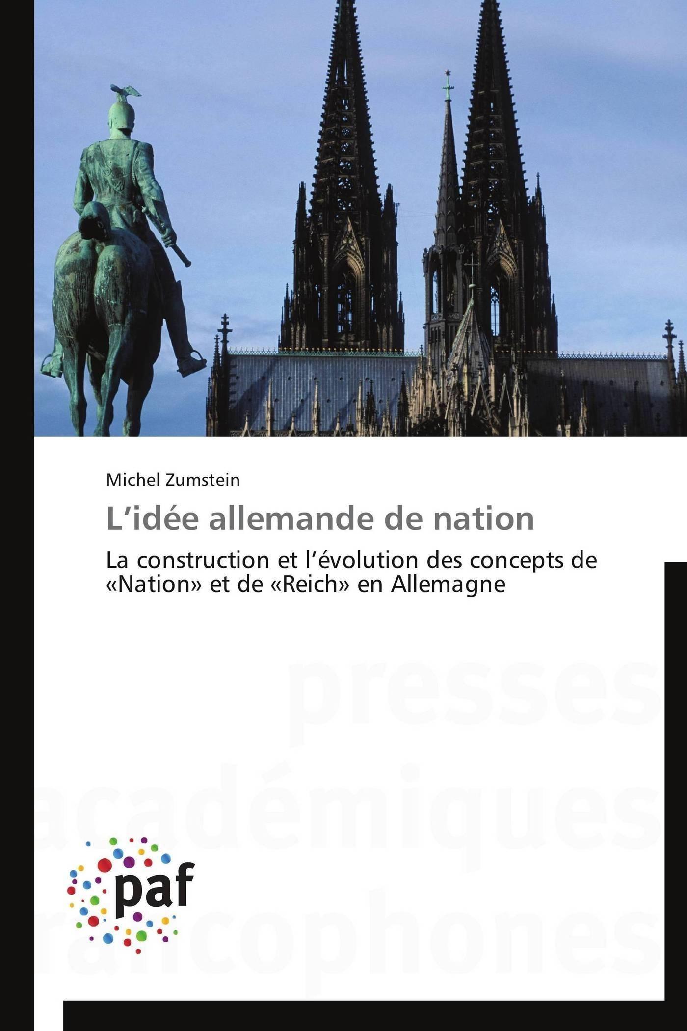 L IDEE ALLEMANDE DE NATION
