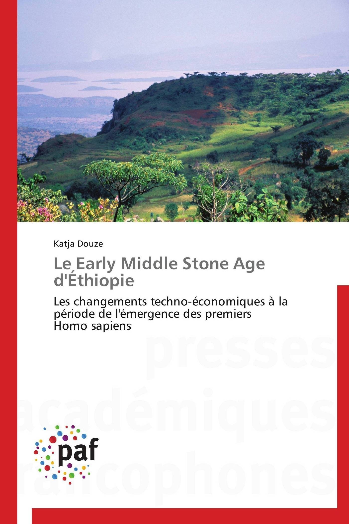 LE EARLY MIDDLE STONE AGE D'ETHIOPIE