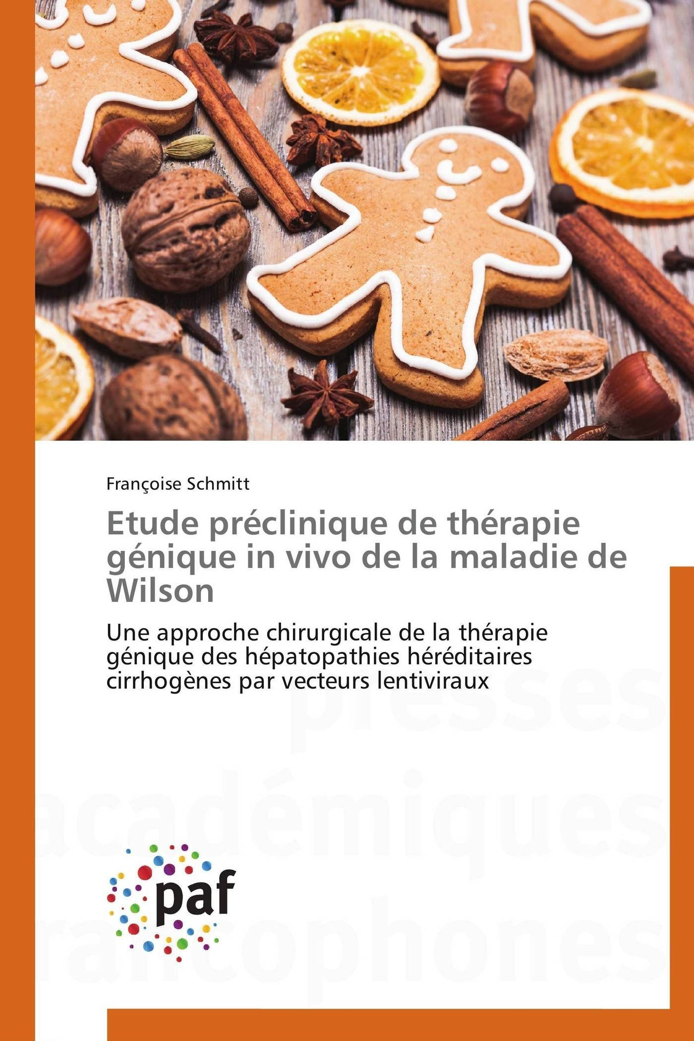 ETUDE PRECLINIQUE DE THERAPIE GENIQUE IN VIVO DE LA MALADIE DE WILSON