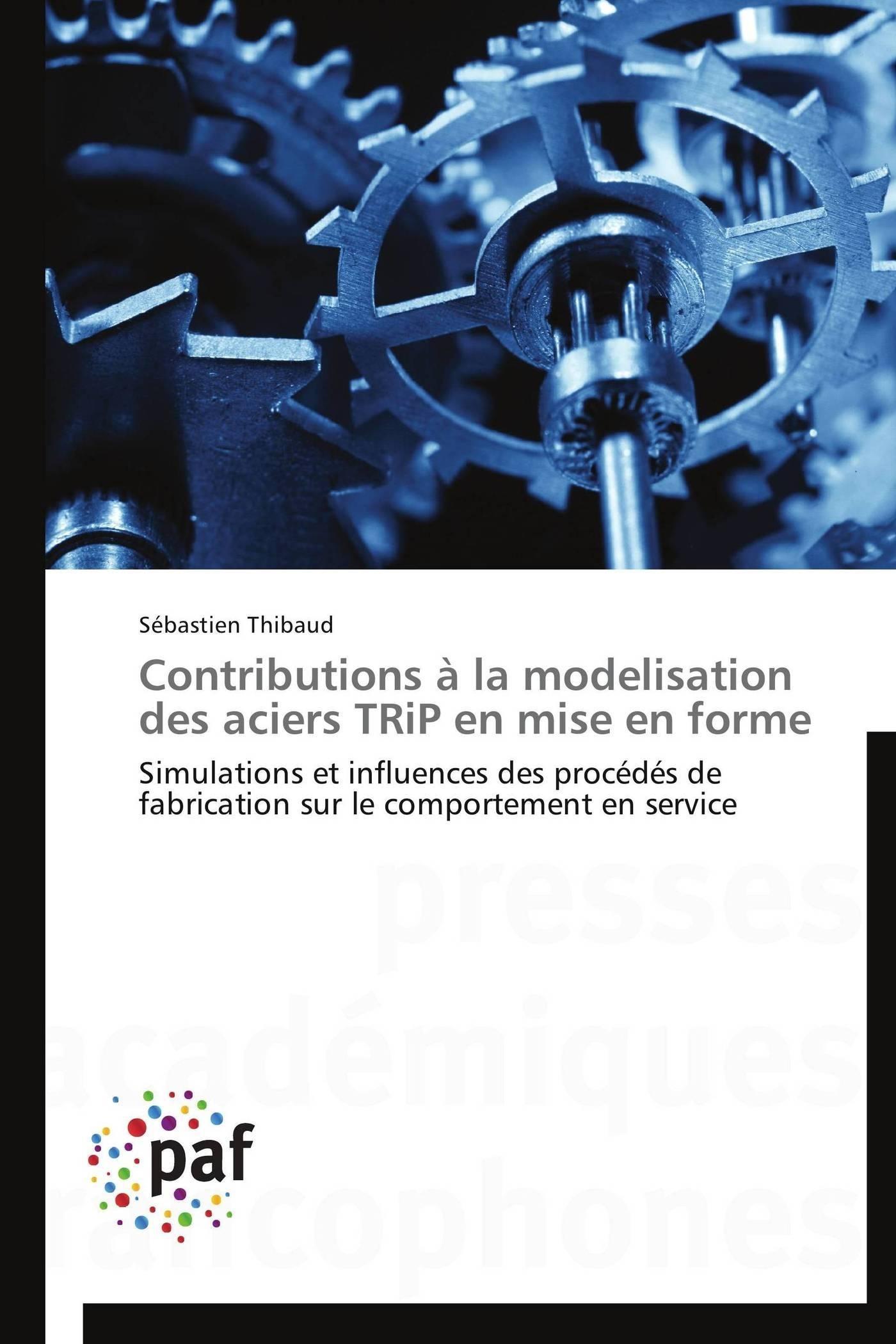 CONTRIBUTIONS A LA MODELISATION DES ACIERS TRIP EN MISE EN FORME