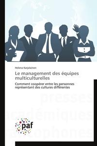 LE MANAGEMENT DES EQUIPES MULTICULTURELLES