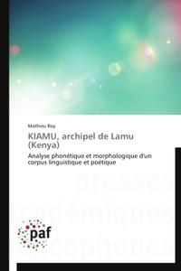 KIAMU, ARCHIPEL DE LAMU (KENYA)