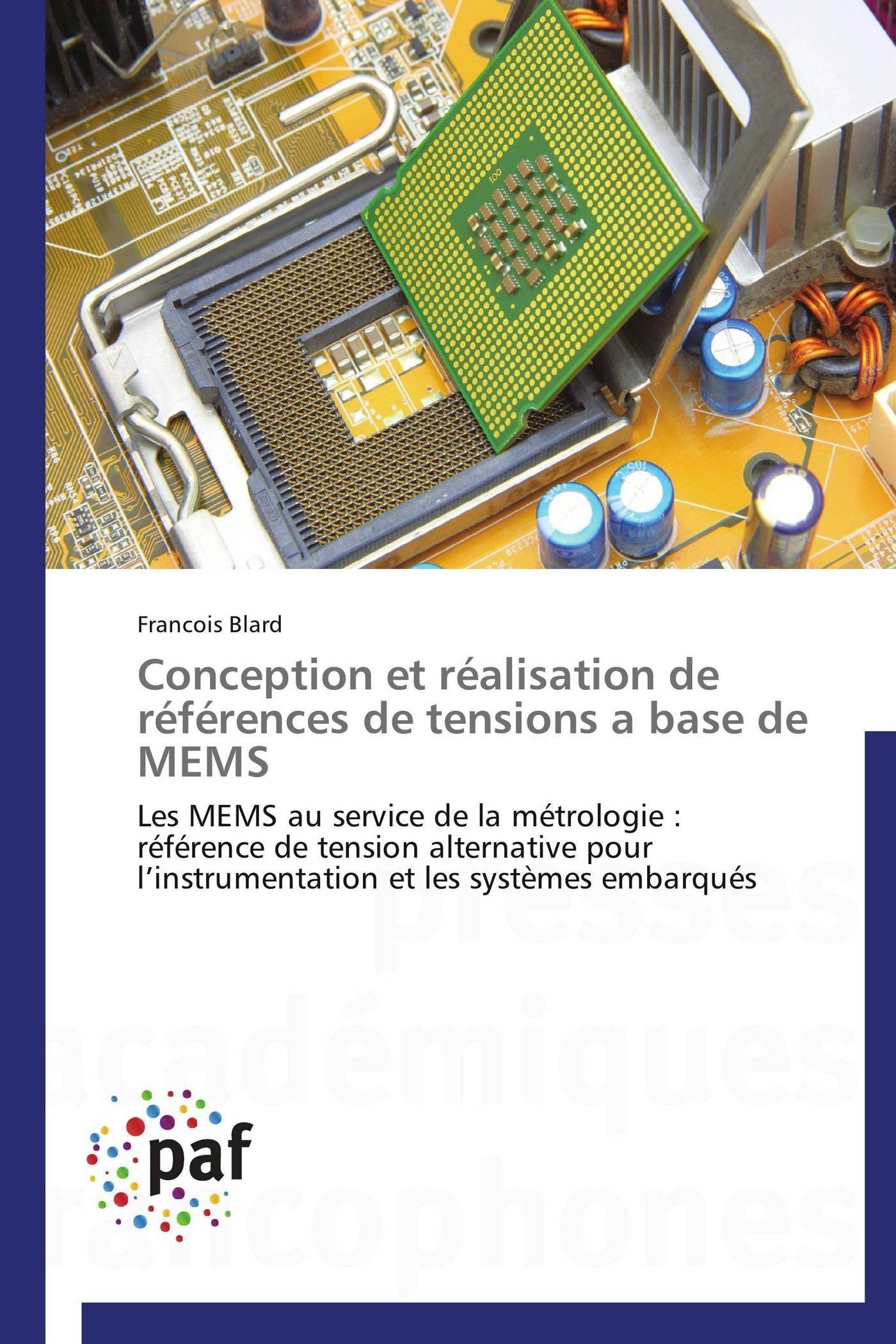 CONCEPTION ET REALISATION DE REFERENCES DE TENSIONS A BASE DE MEMS