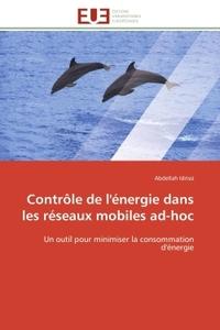 CONTROLE DE L'ENERGIE DANS LES RESEAUX MOBILES AD-HOC