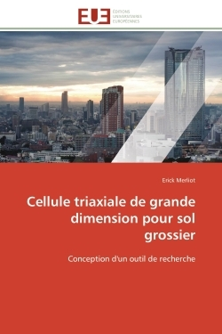 CELLULE TRIAXIALE DE GRANDE DIMENSION  POUR SOL GROSSIER
