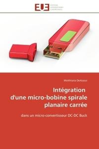 INTEGRATION  D'UNE MICRO-BOBINE SPIRALE PLANAIRE CARREE