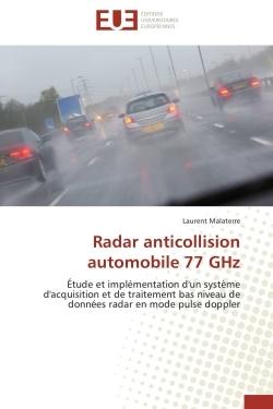 RADAR ANTICOLLISION AUTOMOBILE 77 GHZ