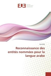 RECONNAISSANCE DES ENTITES NOMMEES POUR LA LANGUE ARABE