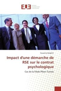 IMPACT D'UNE DEMARCHE DE RSE SUR LE CONTRAT PSYCHOLOGIQUE