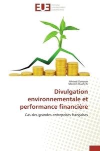 DIVULGATION ENVIRONNEMENTALE ET PERFORMANCE FINANCIERE