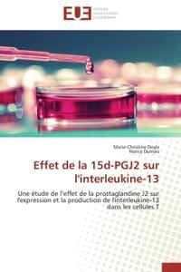 EFFET DE LA 15D-PGJ2 SUR L'INTERLEUKINE-13