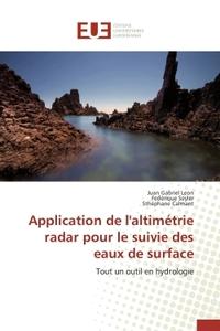 APPLICATION DE L'ALTIMETRIE RADAR POUR LE SUIVIE DES EAUX DE SURFACE