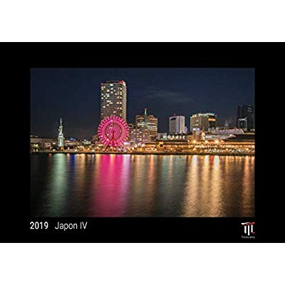 JAPON IV 2019 EDITION NOIRE CALENDRIER MURAL TIMOKRATES CALENDRIER PHOTO CALENDR