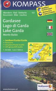 LAGO DI GARDA/MONTE BALDO 102  1/50.000