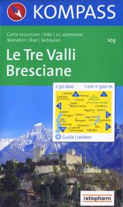 LE TRE VALLI/BRESCIANE 103  1/50.000