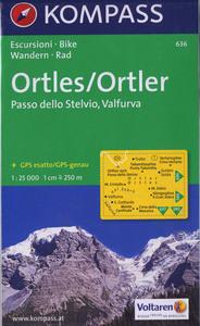 ORTLES/PASSO STELVIO 636  1/25.000