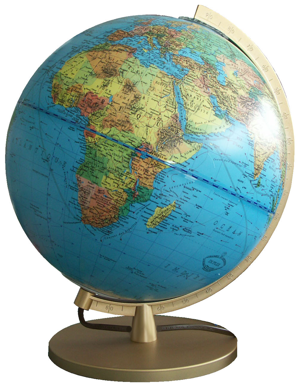 *26 CM IMPERIAL ILLUMINATED GLOBE