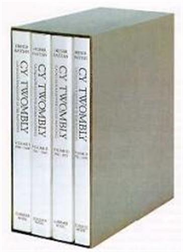 CY TWOMBLY : CATALOGUE RAISONNE OF THE PAINTINGS (VOL 1- 4) /ANGLAIS/ALLEMAND