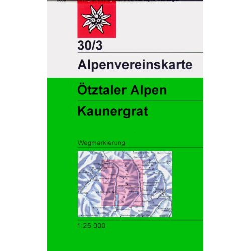 OTZTALER ALPEN KAUNERGRAT