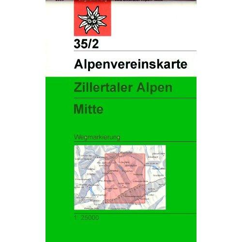 ZILLERTALER ALPEN MITTLERES B.