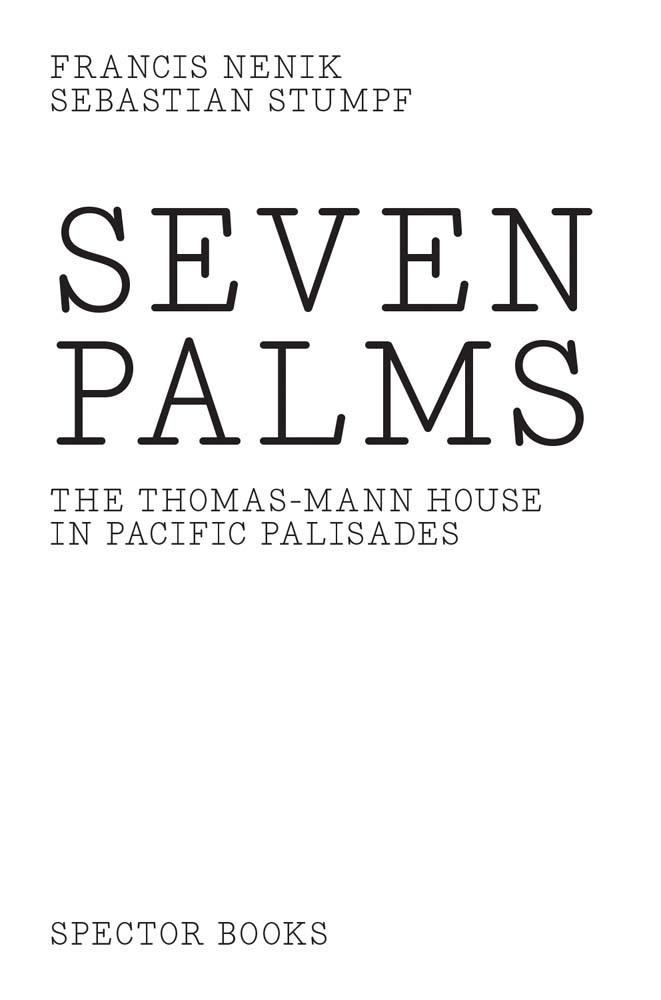 FRANCIS NENIK SEBASTIAN STUMPF S  SEVEN PALMS /ANGLAIS/ALLEMAND