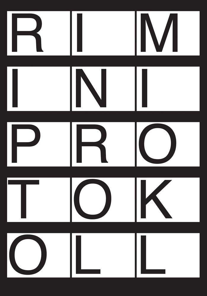 RIMINI PROTOKOLL CONTACT SHEETS /ANGLAIS/ALLEMAND
