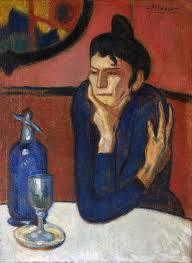 PABLO PICASSO - THE ABSINTHE DRINKER /ANGLAIS