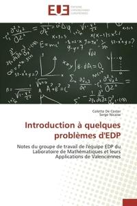 INTRODUCTION A QUELQUES PROBLEMES D'EDP