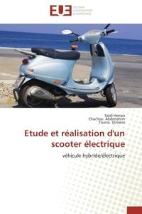 ETUDE ET REALISATION D'UN SCOOTER ELECTRIQUE