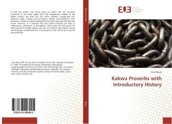 KAKWA PROVERBS WITH INTRODUCTORY HISTORY